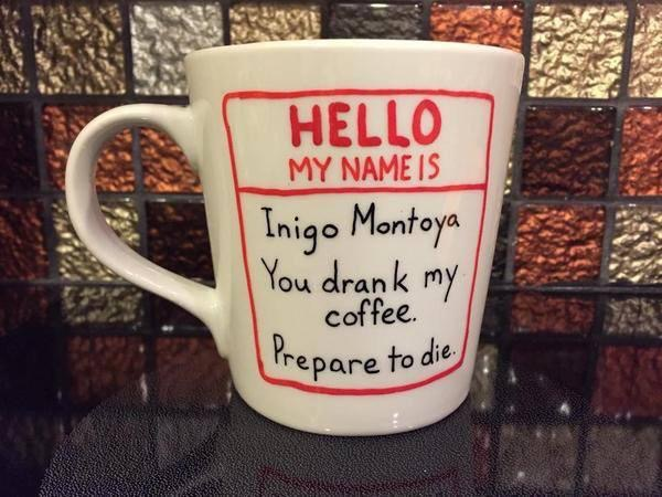 Mug with Hello My Name Is. . .