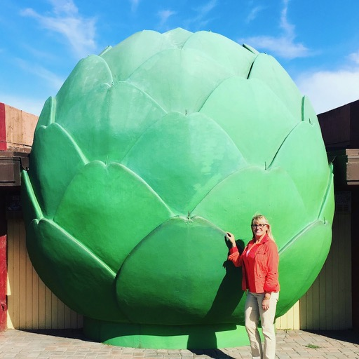 the world's largest artichoke.